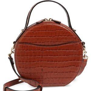 Rebecca Minkoff Jody Croc circle bag